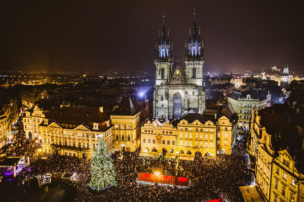 Prague Christmas Market Copyright Prague.eu
