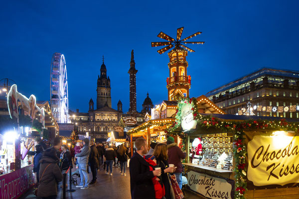 Glasgow Christmas Market - Copyright Glasgow City Marketing Bureau