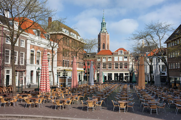 Grote Markt (Market Square) in The Hague, South Holland, Netherlands by Artur Bogacki