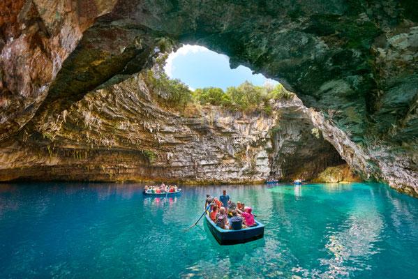 Melissani Cave, Kefalonia island, Greece - Copyright John_Walker