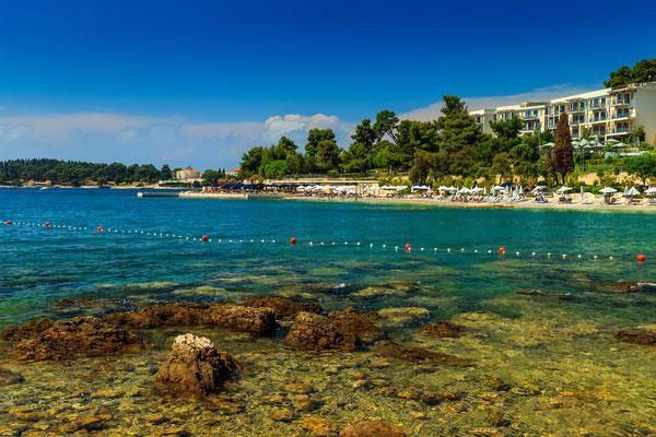Mulini beach, Rovin, Croatia - Copyright Gaspar Janos