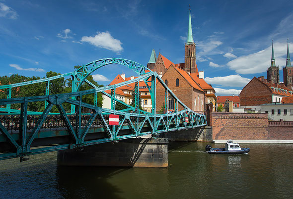 DestTumski Bridge Wroclaw - Copyright VisitWroclaw.eu - Instagram User - European Best Destinations