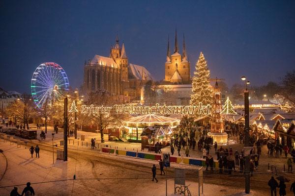Erfurt Christmas Market - Photographer & Copyright Matthias Frank Schmidt - www.fotograf-erfurt.de