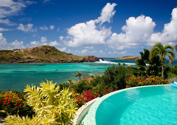 Saint Barthelemy - European Best Destinations - Beautiful Pool in St Barth - Copyright Stacy Funderburke