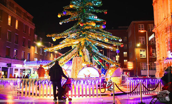 Best Christmas Markets in France - Amiens Christmas Market - European Best Destinations