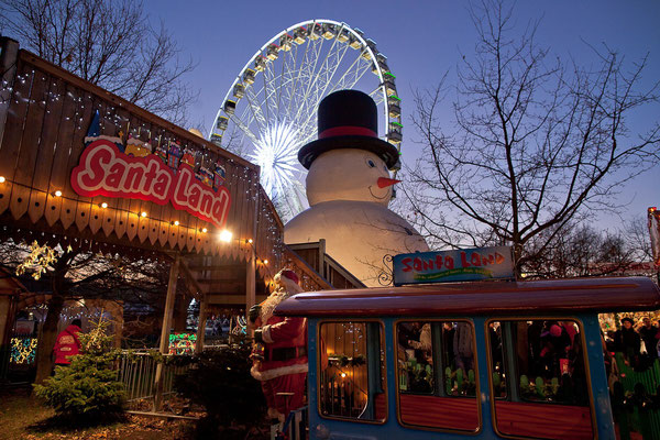 Christmas Market London - Copyright Hyde Park Winterwonderland