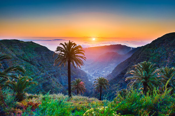 Tenerife - European Best Destinations - Sunset in Tenerife Copyright canadastock