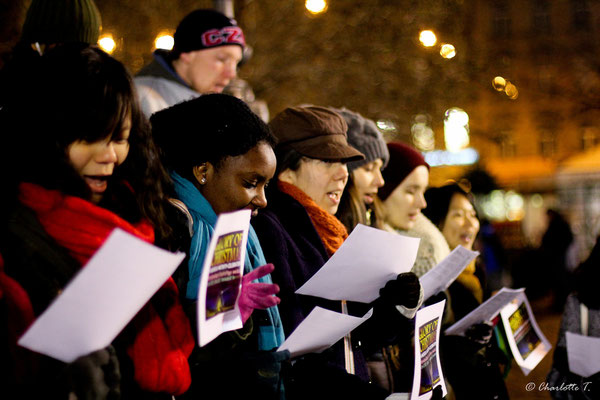 Christmas in Prague - Carolling - Copyright  Charlotte90T