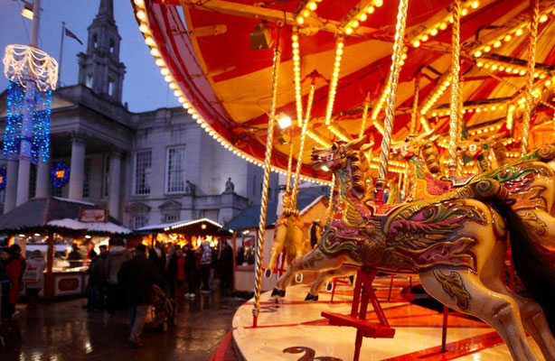 Best Christmas Markets in the UK  - Leeds Christmas Market Copyright Leeds-City-Council