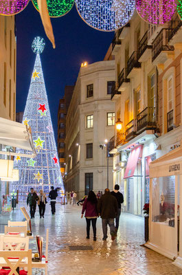 Malaga Christmas lights - Copyright Matthieu Cadiou - European Best Destinations