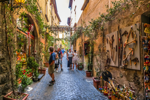 Florence streets copyright canadastock