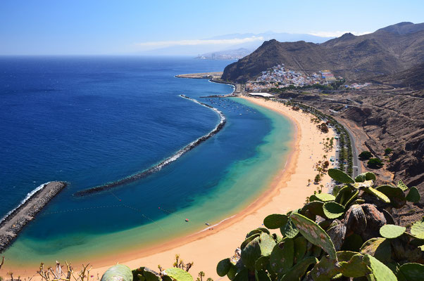 Tenerife - European Best Destinations - Playa de Las Teresitas in Tenerife - Copyright Pawel Kazmierczak