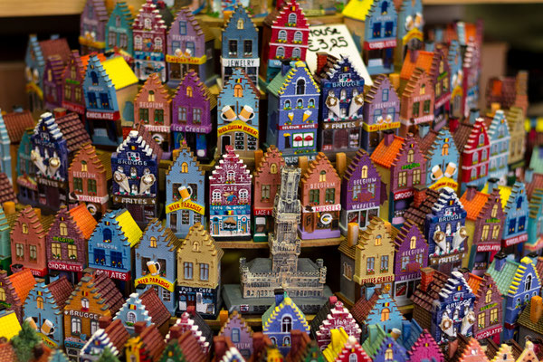Bruges - European Best Destinations - Miniatures of houses - Bruges - Copyright LunarVogel