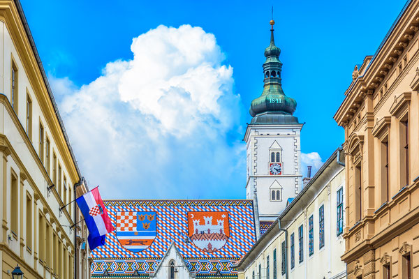 Upper town of Zagreb - St. Mark's square - Copyright Dreame