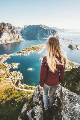 Beautiful view of Lofoten copyright everst