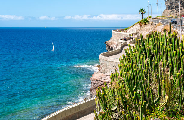 Gran Canaria - European Best Destinations - Coastline of Puerto Rico in Gran Canaria - Copyright Valery Bareta