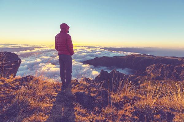 Pico do Ariero and Pico Ruivo, Madeira, Portugal