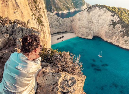 Zakynthos beach in Kefalonia, Greece - Copyright WineDonuts