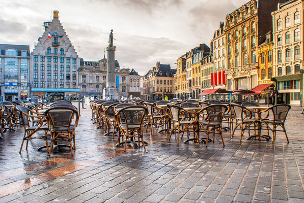Lille in France - Grand Place Copyright Dziorek Rafal