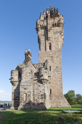 Wallace Monument in Sterling Copyright  Daniel Zuppinger