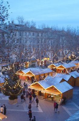 Avignon Christmas Market - Copyright Avignon Tourisme