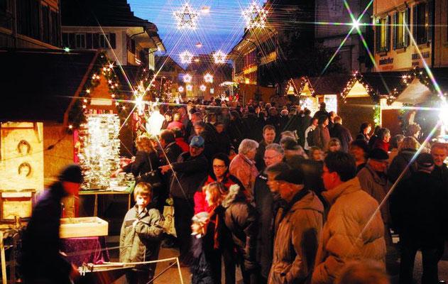 Bern Christmas market - Copyright Bern Welcome