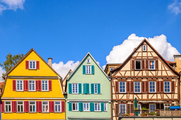 Tubingen picturesque medieval houses copyright Thoom