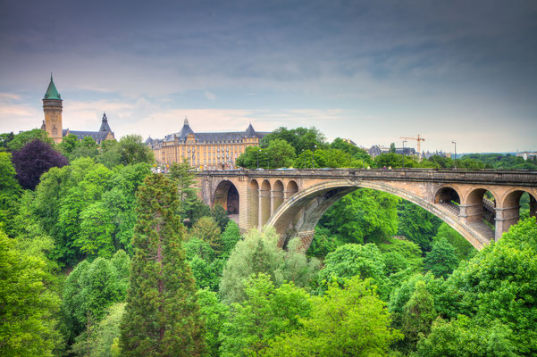 Luxembourg City Panorama, HDRI Copyright gevision