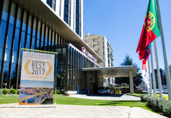 Crowne Plaza Porto - Porto European Best Destination 2017 - Offical Partner