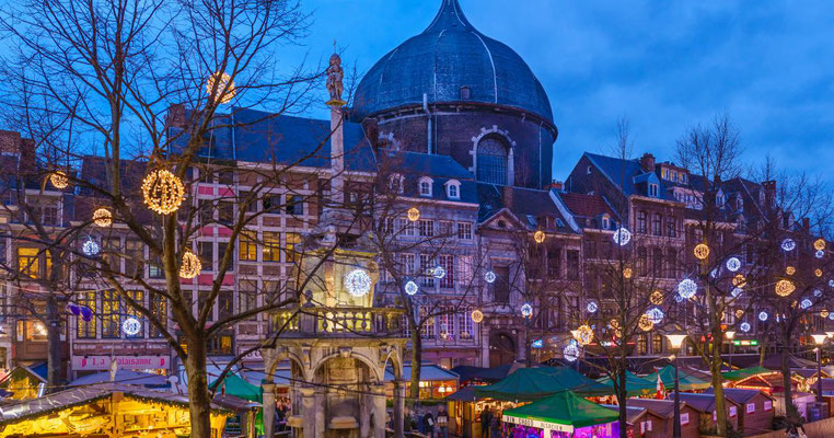 Liege christmas Market - Copyright Wallonia Belgium Tourism