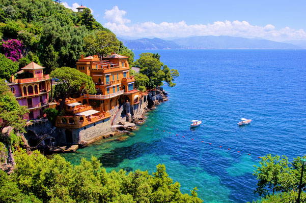 Portofino - European Best Destinations - Luxury houses of Portofino Copyright JeniFoto