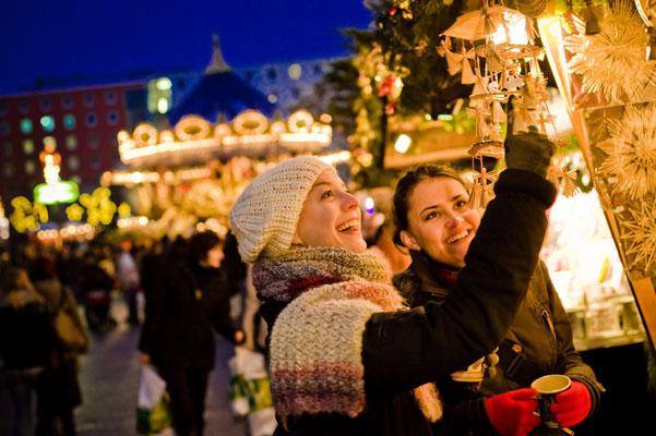 Leipzig Christmas Market - Copyright Dirk Brzoska