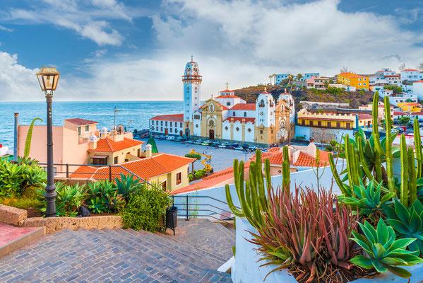 Candelaria town tenerife canary islands copyright  Balate Dorin