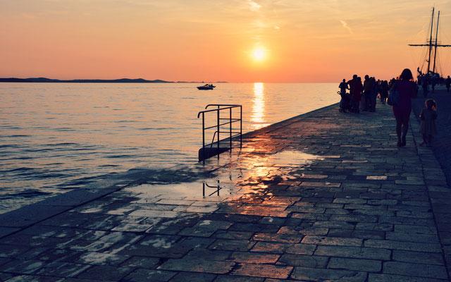 Sunset at Zadar, Croatia - Copyright European Best Destinations