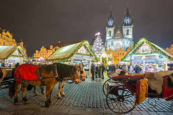 Christmas in Prague - Copyright Jan Jironc