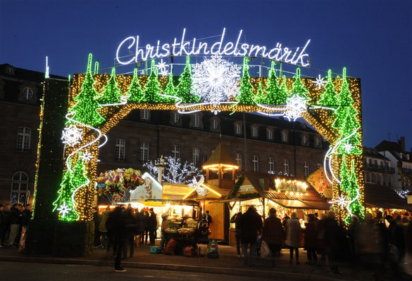 Strasbourg European Best Christmas Markets - Copyright OT Strasbourg