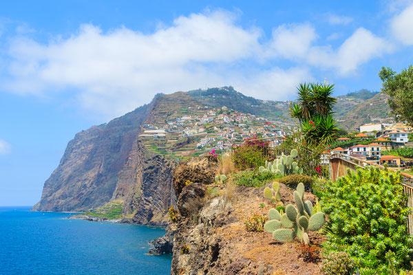 Cabo Girao cliff from Camara de Lobos town near Funchal, Madeira island, Portugal - Copyright Pawel Kazmierczak