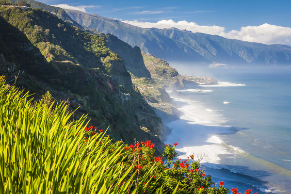 Northern coast near Boaventura, Madeira island, Portugal - Copyright Anilah
