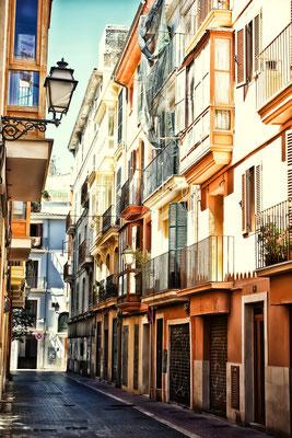 Street in Palma de Mallorca, Spain, Balearic islands, Mallorca by Veronika Galkina