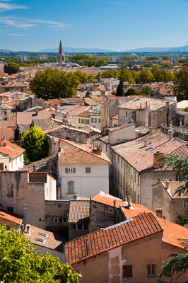 Avignon old city houses view - France Copyright Pablo Debat
