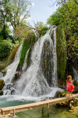 Kravice waterfalls on the Trebizat river in Bosnia and Herzegovina Copyright Adnan Vejzovic