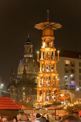 Christmas market in Dresden, Germany copyright Sylvio Dittrich