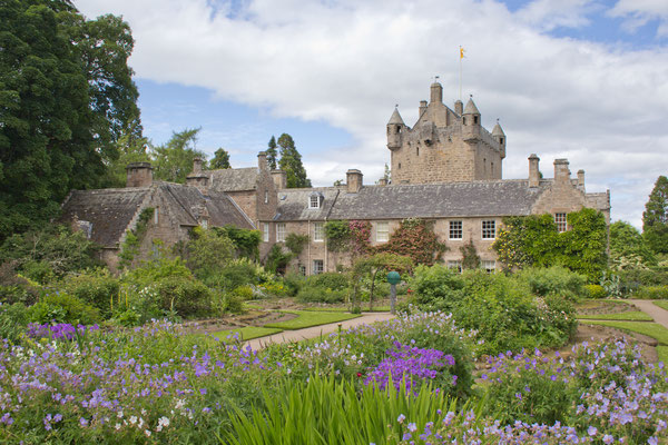 Cawdor Castle and gardens near Inverness, Scotland.Copyright johnbraid