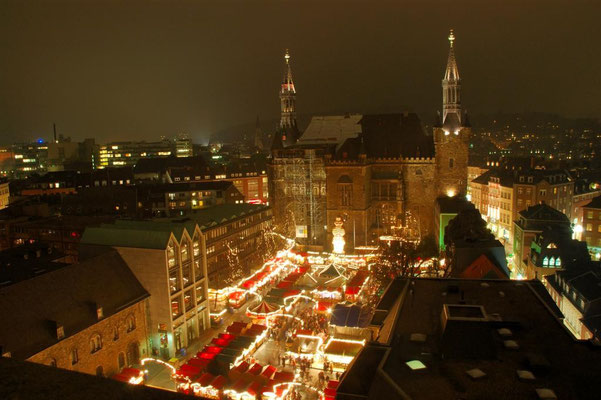 Best Christmas Markets in Germany -  Aachen Christmas Market - Copyright Aachen Tourist Board