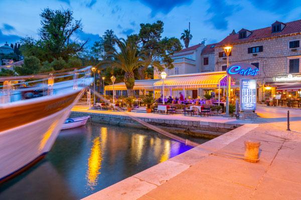 Cavtat Restaurant Harbor copyright Shutterstock Editorial  Frank Fell Media
