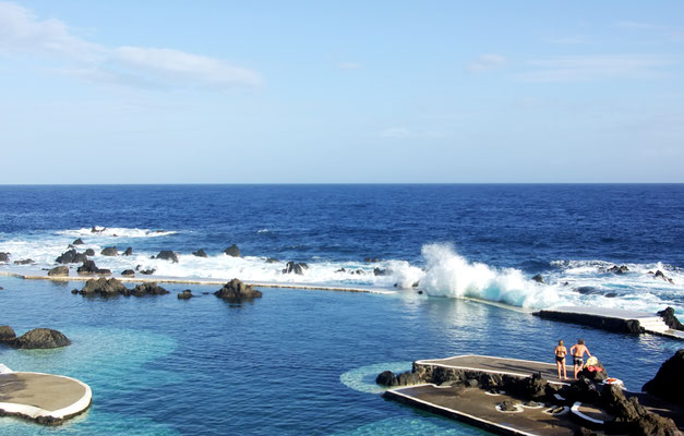 Natural pools in Porto Moniz, Madeira, Portugal - Copyright inacio pires