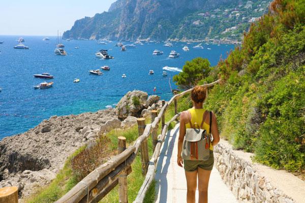 Capri Hike copypright  Zigres