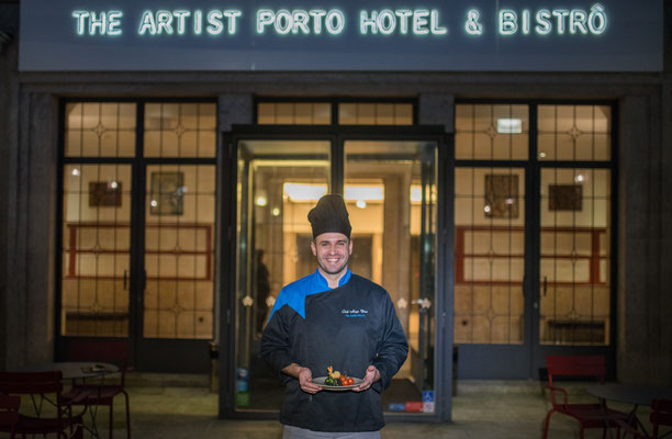 Chef Hugo Dias © The Artist Porto Hotel