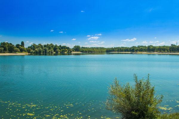 Beautiful Jarun lake in Zagreb, Croatia - Copyright iascic