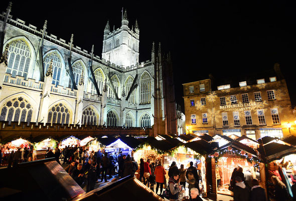 Bath Christmas Market Copyright Bath Tourism Plus / Colin Hawkins